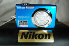Nikon COOLPIX S3000 12MP Compact Digital Camera - Choice of Colours - Exc Cond.