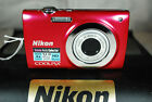 Nikon COOLPIX S2550 12MP Compact Digital Camera - Choice of Colours - Excellent