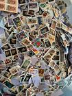 BIG LOT OF 200 MIXED USED  CANCELLED US POSTAGE STAMPS ON PAPER NEW  VINTAGE