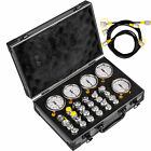 Hydraulic Pressure Test Kit 600Bar 60P Digital for Caterpillar Komatsu Excavator