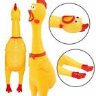 Fun Pet Dog Shrilling Rubber Chicken Chew Sound Squeeze Screaming Playing Toy