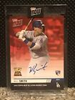 2019 Topps NOW Will Smith All Star Rookie Cup #RC-1D Auto #'d 4 10 Dodgers RC
