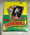 1987 TOPPS BASEBALL UNOPENED WAX BOX-36 PACKS-ROOKIES, STARS, COMMONS
