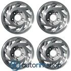 Ford E150 1993 2003 15 Machined with Silver OEM Wheels Rims Full Set