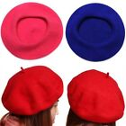 Sweet Women's Solid Wool Beret French Artist Warm Beanie Hat Winter Ski Cap SL