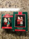 Hallmark Mr. & Mrs. Claus-4th & 5th in Series Christmas Ornament-Dated 1989-90