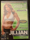 Jillian Michaels Shred It With Weights DVD 2010 NEW SEALED