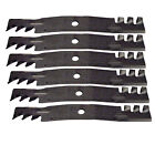 Lot of 6 G6 Gator Blades on Fits John Deere 54C X465 X475 X485 X495 Z425 Z445 39