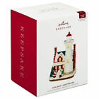 HALLMARK 2019 HOLIDAY LIGHTHOUSE 8th In The Series Ornament Free Shipping