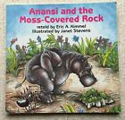 ANANSI AND THE MOSS COVERED ROCK SIGNED ERIC A KIMMEL VG RARE COLLECTIBLE PB