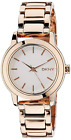 DKNY NY2210 Womens Watch Rose Gold Stainless Steel Bracelet 32mm Watch