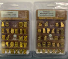 2 Walnut Hollow HotStamps Alphabet Sets 1 Upper Case 26162  1 Lower Case 41004