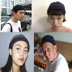 2x Novelty Unisex Oriental Sailor Cap Skull Beanie Cosplay Dance Hat Black,Navy