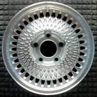 Chevrolet Caprice Machined w Silver Pockets 15 inch OEM Wheel 1991 1996