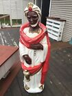 Wiseman Nativity Blow Mold 50 Christmas Life Size African American Standing