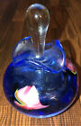 Lotton Art Glass Perfume Bottle Signed Jerry Heer 2000