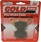 Cagiva SST 350 NC Brake Disc Pads Rear R/H Goldfren 1991