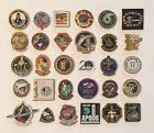 LOT of 30 NASA LAPEL PINS Space Shuttle STS Missions Apollo Cassini Hubble ++++