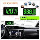 1Pcs 62 GPS Speedometer HUD Head Up Display Overspeed Warning Device For Car