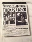 Jethro Tull Thick As A Brick Cd Dvd Deluxe Edition Boxset New And Sealed