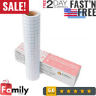 Vinyl Transfer Paper Tape Roll Cricut Adhesive 12 x 30 FT Clear Alignment Grid