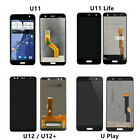 LCD Digitizer Display Touch Screen Replace For HTC U12+ U11 Life U Play U12 Plus