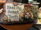 Boyd's Bears Pillows (2) New with Tags, Vintage, Bless My Sweet Tooth and The