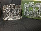 International Silver Company Silver Plated 10Pc Nativity Set w Box