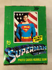 1978 Topps Superman Full Wax Box 2nd Series