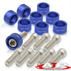 For Honda Acura 4cyl Exhaust Header Manifold Aluminum Replacement Washer Bolts