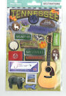 Paper House TENNESSEE 20pc 2 D Layered Stickers scrapbooking SMOKY MOUNTAINS