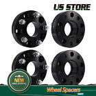 4Pcs 15 Wheel Spacers 5x5 For 07 17 Jeep Wrangler JK Hub Centric Black 5 Lug