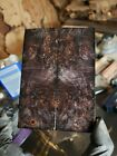 Stabilized maple burl exotic wood scales knife blank for Crafts 1911