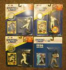 4- '91-'97 Starting Lineup Figures Griffey Jr, Frank, Mattingly, Justice, Thome