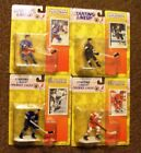 4 - 1994 Starting Lineup Hockey Figures, Fedorov, Leeth, Robitaille, Gilmour
