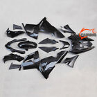 Vivid Black Fairing For KAWASAKI Ninja ZX-10R 2004 2005 10R ZX1000C ABS Bodywork