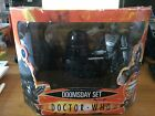 BOXED Dr Who Doomsday Action Figure Set 9th Doctor with dalek and Cyberman RARE