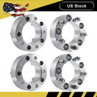 4PCS 2 Wheel Spacers 5x55 Adapters 1 2x20 108mm CB for Dodge Ram 1500 Ford
