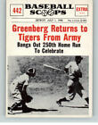 Hank Greenberg Cards, Rookie Cards and Autographed Memorabilia Guide 14