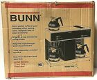 Bunn Commercial VPS 12 Cup Pourover Coffee Brewer with 3 Warmers 042750031