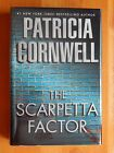SIGNED The Scarpetta Factor by Patricia Cornwell Brand New Hard Cover