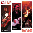 G3 LIVE (JOE SATRIANI) - ROCKIN' IN THE FREE WORLD - EPIC - 2 CD SET - 2004