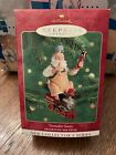 HALLMARK KEEPSAKE ORNAMENT TOYMAKER SANTA DATED 2000 1ST IN SERIES