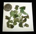 Moldavite Lot Natural Green Tektite Czech Republic 639 grams