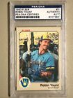 Robin Yount Cards, Rookie Cards and Autographed Memorabilia Guide 36