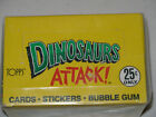 1988 TOPPS DINOSAURS ATTACK! UNOPENED 48 PACK BOX - VERY CLEAN BOX