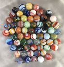 Vintage Glass Marbles Lot Peltier Various Types