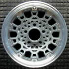 Chevrolet Astro Machined w Charcoal Spokes 15 inch OEM Wheel 1986 1992