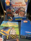2 New Thomas Train Wooden Railway Dustin Comes In First Book Pack Sodor Logan