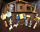 BIBLE TOYS THE NATIVITY PLAYSET 19 PIECE SET AGES 3+ ORIGINAL BOX